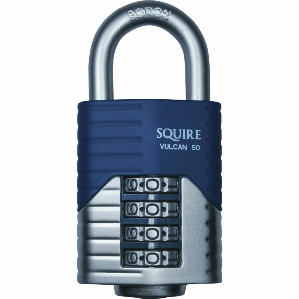 Squire Warrior Combi 55 Padlock **BRAND NEW IN BOX** **FREE POSTAGE** Armoured S